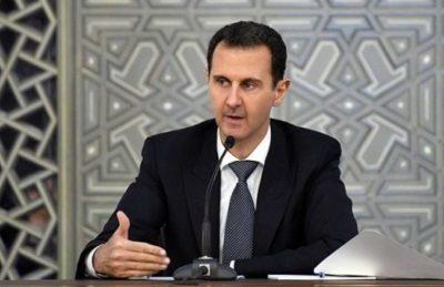 """Assad: """"Negli USA non c'è sistema politico, governano le lobby di armi, petrolio e banche"""""""