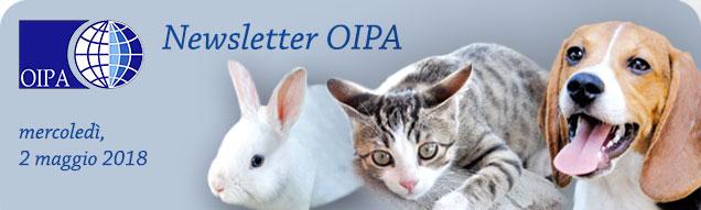 Newsletter OIPA del 28 maggio 2018