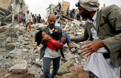 L'Unicef conferma: 19 bambini sono morti nel recente attacco dell'Arabia Saudita allo Yemen