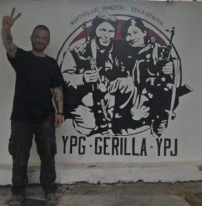 "Lorenzo ""Tekoser"" Orso caduto combattendo in Rojava Kurdistan"