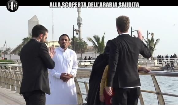 """Le """"Iene"""" vanno in Arabia Saudita per un incredibile spot turistico al paese"""