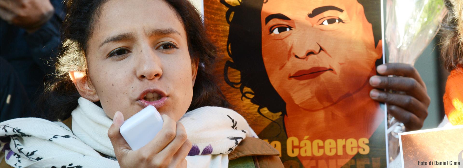 Tre anni fa l'omicidio di Berta Caceres