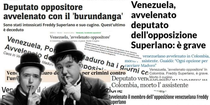 """Luis Sepulveda ridicolizza la bufala del """"deputato avvelenato da Maduro"""""""