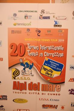 Torna a Cuneo il grande tennis paralimpico
