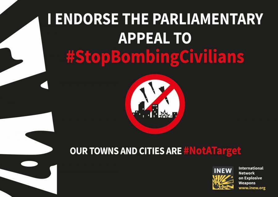 """L'ANVCG lancia una raccolta di firme tra i parlamentari per dire """"Stop alle bombe sui civili"""""""