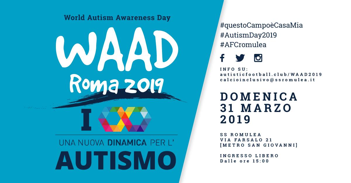 WAAD 2019 – Una nuova dinamica per l'Autismo
