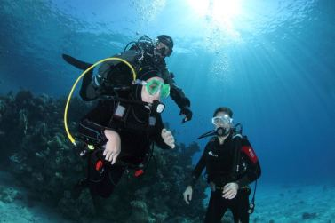 In immersione cadono le barriere fisiche e mentali