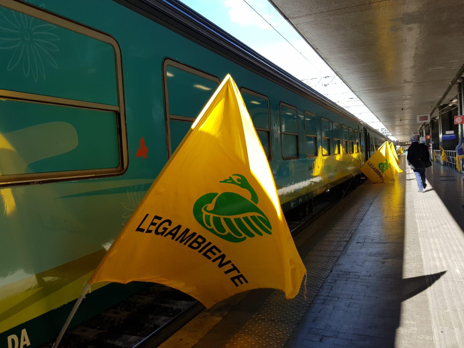 Il Treno Verde di Legambiente e Ferrovie dello Stato Italiane arriva a Roma