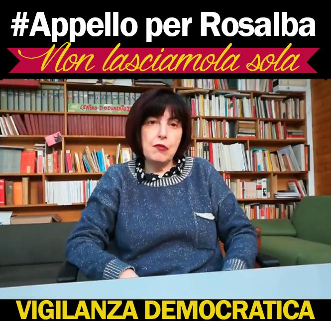 Sulla condanna in Appello a Rosalba Romano