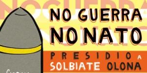 Presidio alla base Nato di Solbiate Olona il 10 novembre