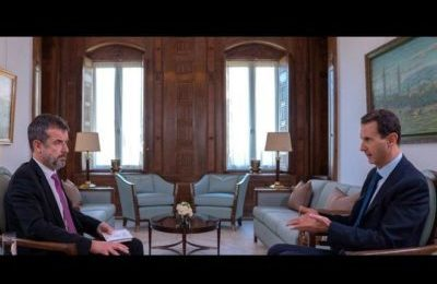 Assad: La guerra in Siria non è finita. USA, Francia, Gran Bretagna e Turchia con i terroristi