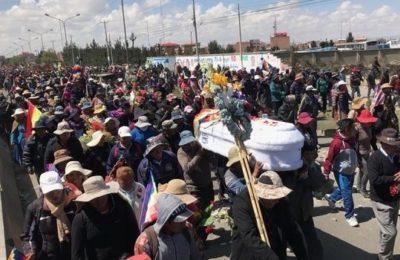 """Bolivia: """"Ci uccidono come cani"""""""