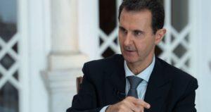 """Assad: """"Trump miglior Presidente, almeno è trasparente vuole il petrolio"""""""