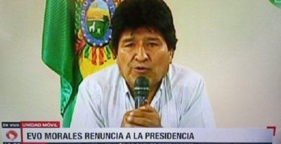Bolivia, il fascismo avanza, Evo Morales costretto a dimettersi