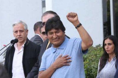 """Evo Morales dal Messico: """"Il nostro peggior crimine è che siamo ideologicamente antimperialisti"""""""