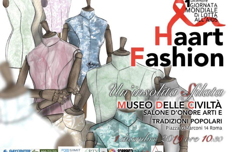 Roma, 1° dicembre: Haart Fashion, un'insolita sfilata