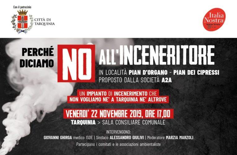 Tarquinia, Italia Nostra Etruria contro inceneritore: assemblea pubblica il 22 novembre