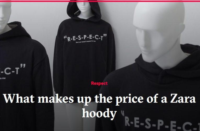 Quanto costa produrre un maglione Zara?