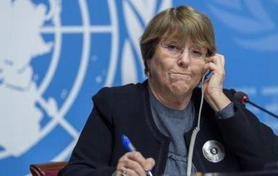 Non una parola sul massacro in Bolivia o Cile