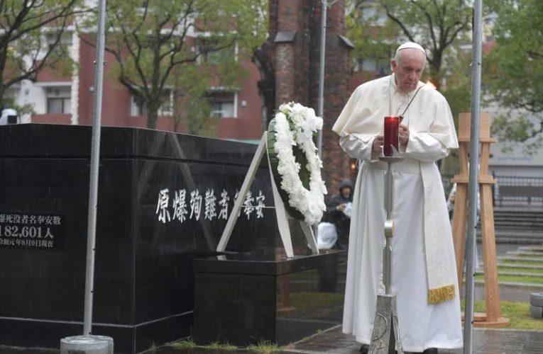 Discorso di papa Francesco sulle armi nucleari