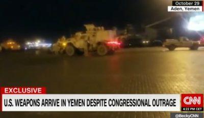 """Guerra Yemen, ecco come gli USA consegnano """"in segreto"""" armi all'Arabia Saudita"""