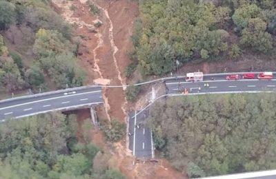 Crollo del viadotto sull'A6, che sia applicata la Costituzione