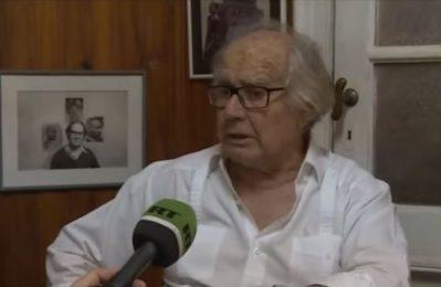 """Il Nobel per la pace Pérez Esquivel su colpo di stato in Bolivia: """"Dietro a tutto ciò c'è la politica degli USA"""""""