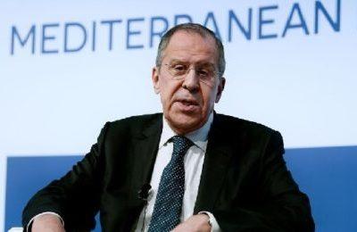 """MED, Lavrov a Roma: """"Gli europei sono inaffidabili"""""""