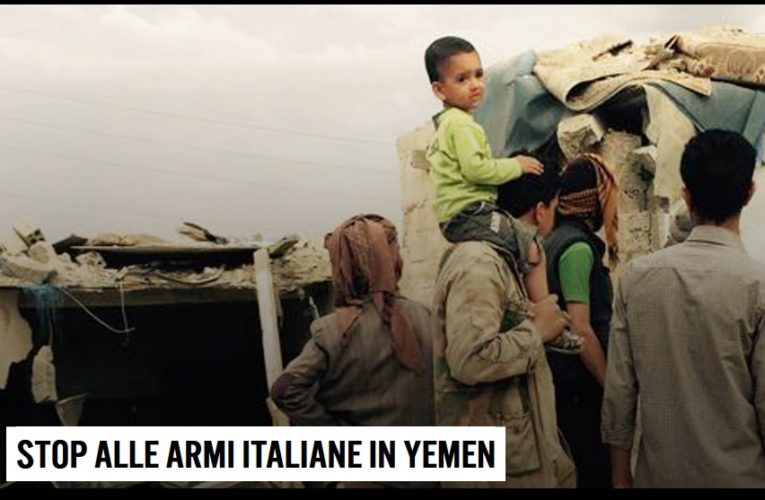 Petizione: Stop alle armi italiane in Yemen!