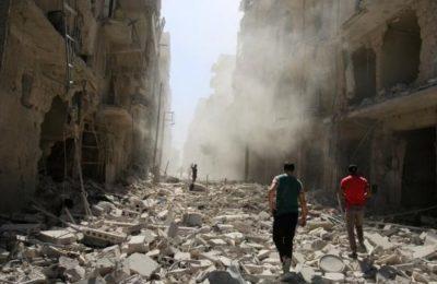 """Mosca: 28 civili uccisi e 56 feriti negli attacchi dei """"ribelli"""" sulla città di Aleppo"""