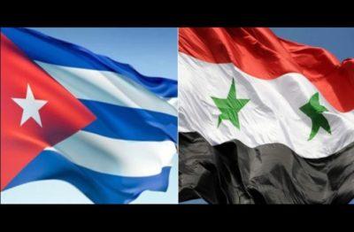 Cuba e Siria: Una lunga storia di sostegno reciproco di fronte all'imperialismo degli USA