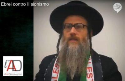 Ebrei contro il sionismo. Parole e immagini che non vedrete mai sul mainstream