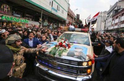 Iran, una marea umana da' l'ultimo saluto al generale Soleimani trucidato dagli Usa