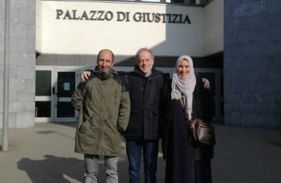 Rinviato al 3 giugno il processo contro Cesare Ottolini per la difesa di una famiglia sotto sfratto