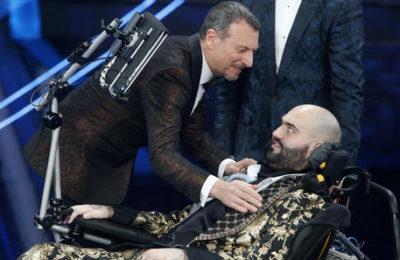Paolo Palumbo, che da Sanremo ha spiegato cos'è realmente la disabilità