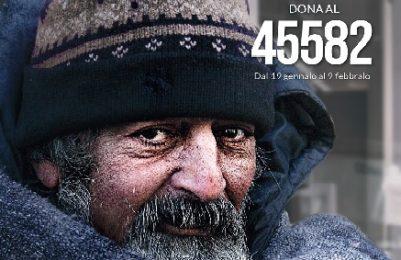 L'inverno di Progetto Arca a fianco dei senzatetto, numero solidale 45582