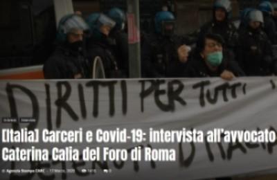 Carceri e Covid-19: intervista all'avvocato Caterina Calia del Foro di Roma