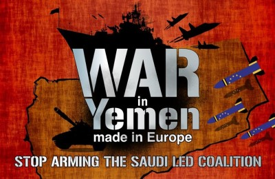 War in Yemen, Made in Europe: online action day