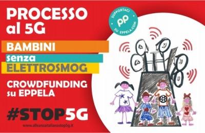 """""""Processo al 5G, bambini senza elettrosmog"""": raccolta fondi per sostenere le cause in tribunale"""
