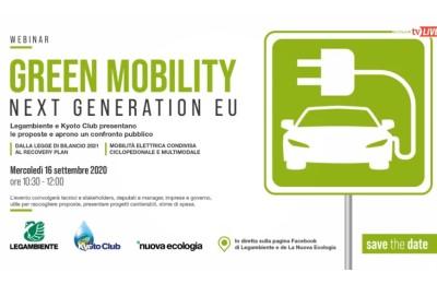 Le 12 proposte di Legambiente e Kyoto Club per puntare sulla mobilità verde