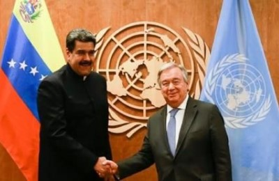 """Maduro all'ONU: """"Venezuela verso giustizia sociale nonostante aggressioni, sanzioni e blocchi"""""""
