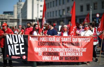 Bruxelles: tutti in strada per il rifinanziamento della Sanità!