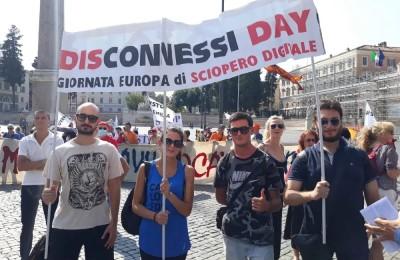 """La manifestazione a Roma """"Stop 5G"""""""