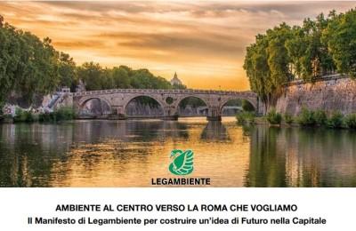 """Legambiente Lazio: """"Roma con meno auto + trasporto pubblico + pedali"""""""