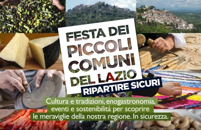 A Roma la terza Festa dei Piccoli Comuni del Lazio