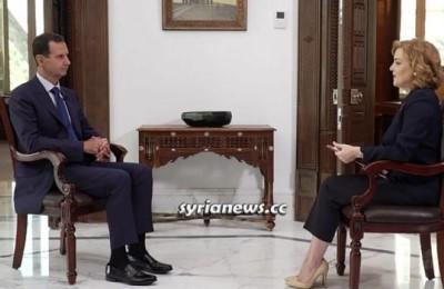Assad: Trump ha il merito di aver svelato il vero volto del regime americano