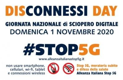 5G, il 1° Novembre disobbedienza civile in Italia con lo sciopero digitale