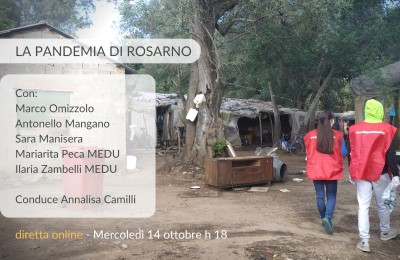 """""""La Pandemia di Rosarno"""" (Evento Online in Diretta Facebook) il 14 ottobre"""