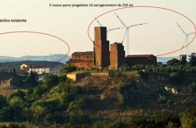 Italia Nostra Lazio: osservazioni al progetto contro ulteriori pale eoliche a Tuscania