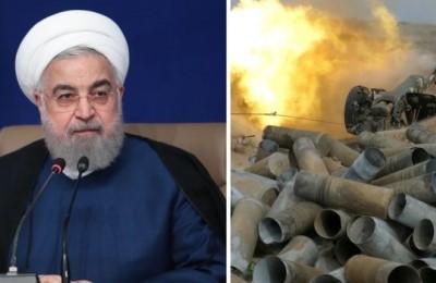 """Iran, Rohani condanna l'invio di """"terroristi siriani"""" in Nagorno-Karabakh. Rischio di conflitto regionale"""
